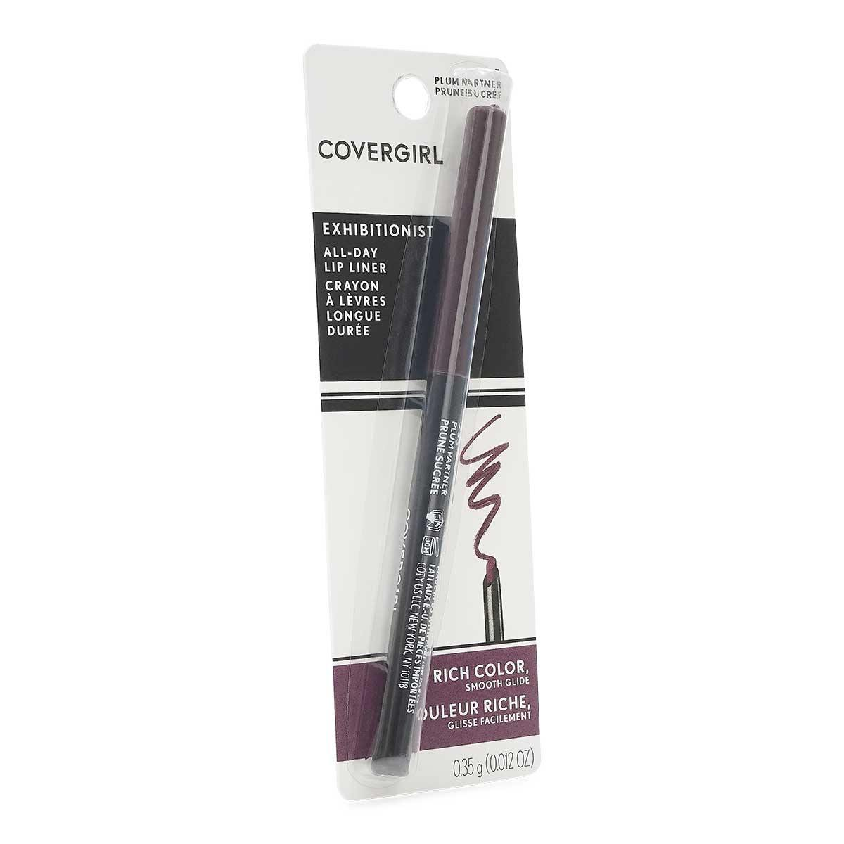 COVERGIRL ALL DAY LIP LINER- PLUM PARTNER - Case of 24 units