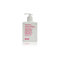 Evo mane tamer smoothing conditioner without sulfates, for color treated or frizzy hair - Case of 3 bottles 300ml/10.1fl.oz (New)