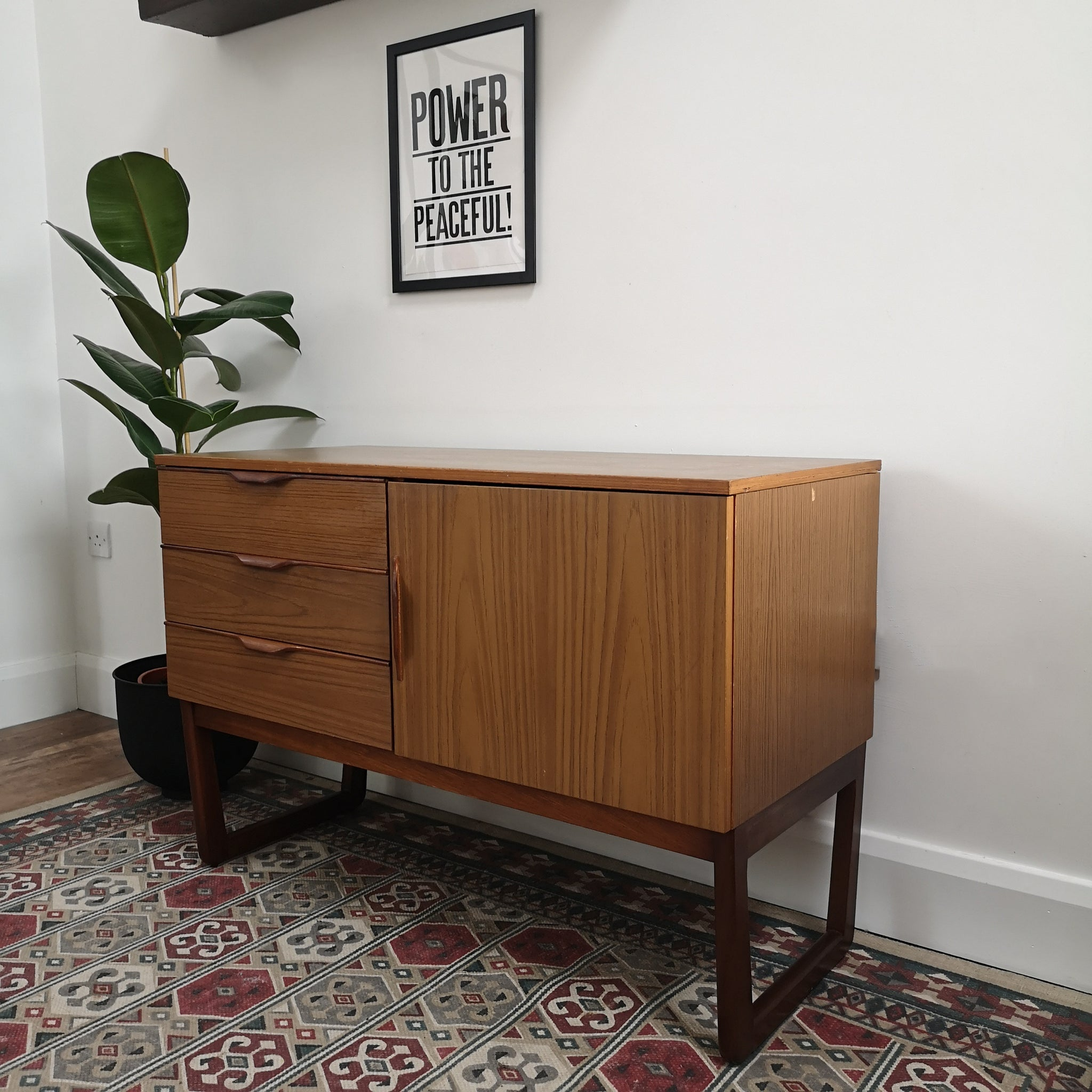 Small Mid Century Sideboard
