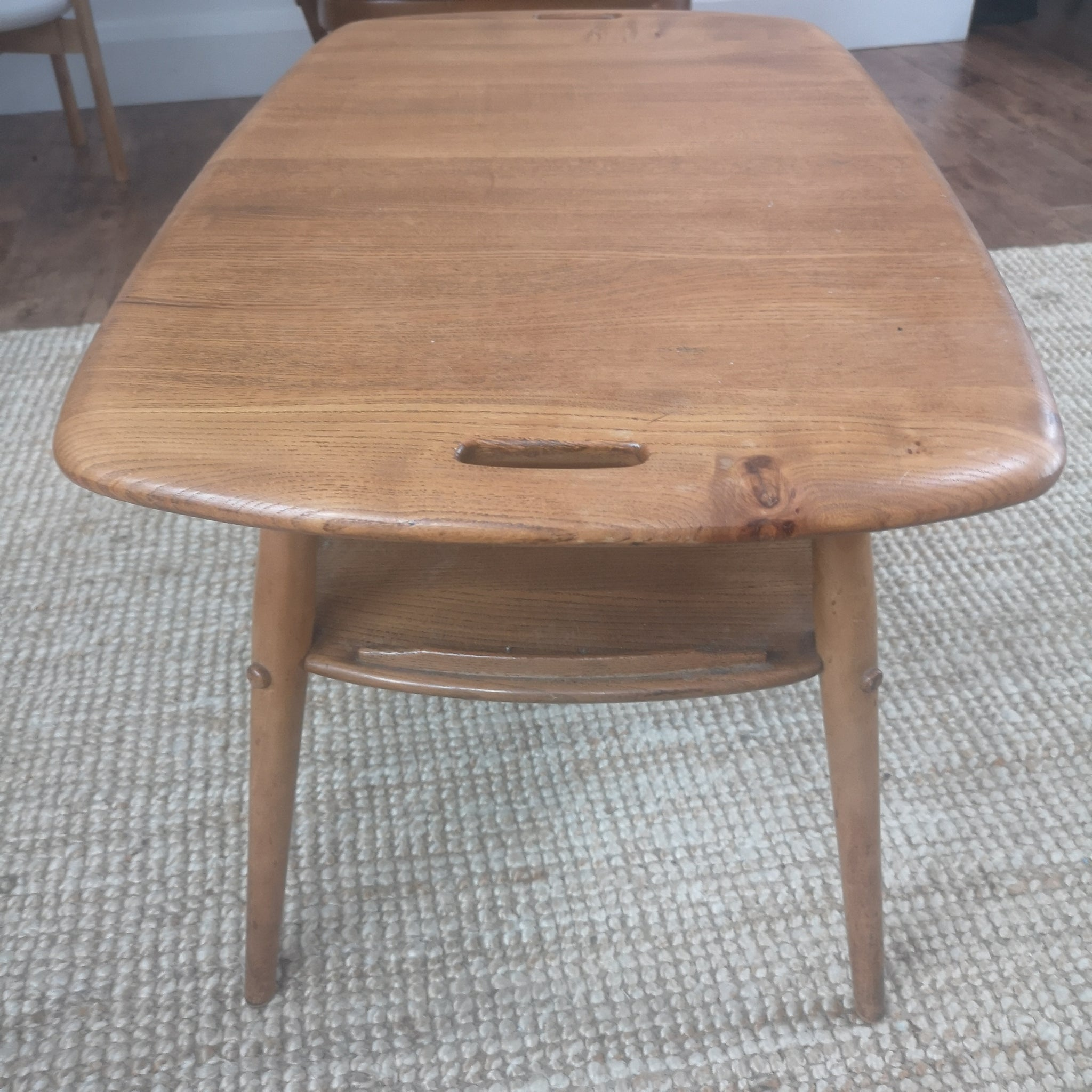 Elm and Beech Coffee Table by Ercol