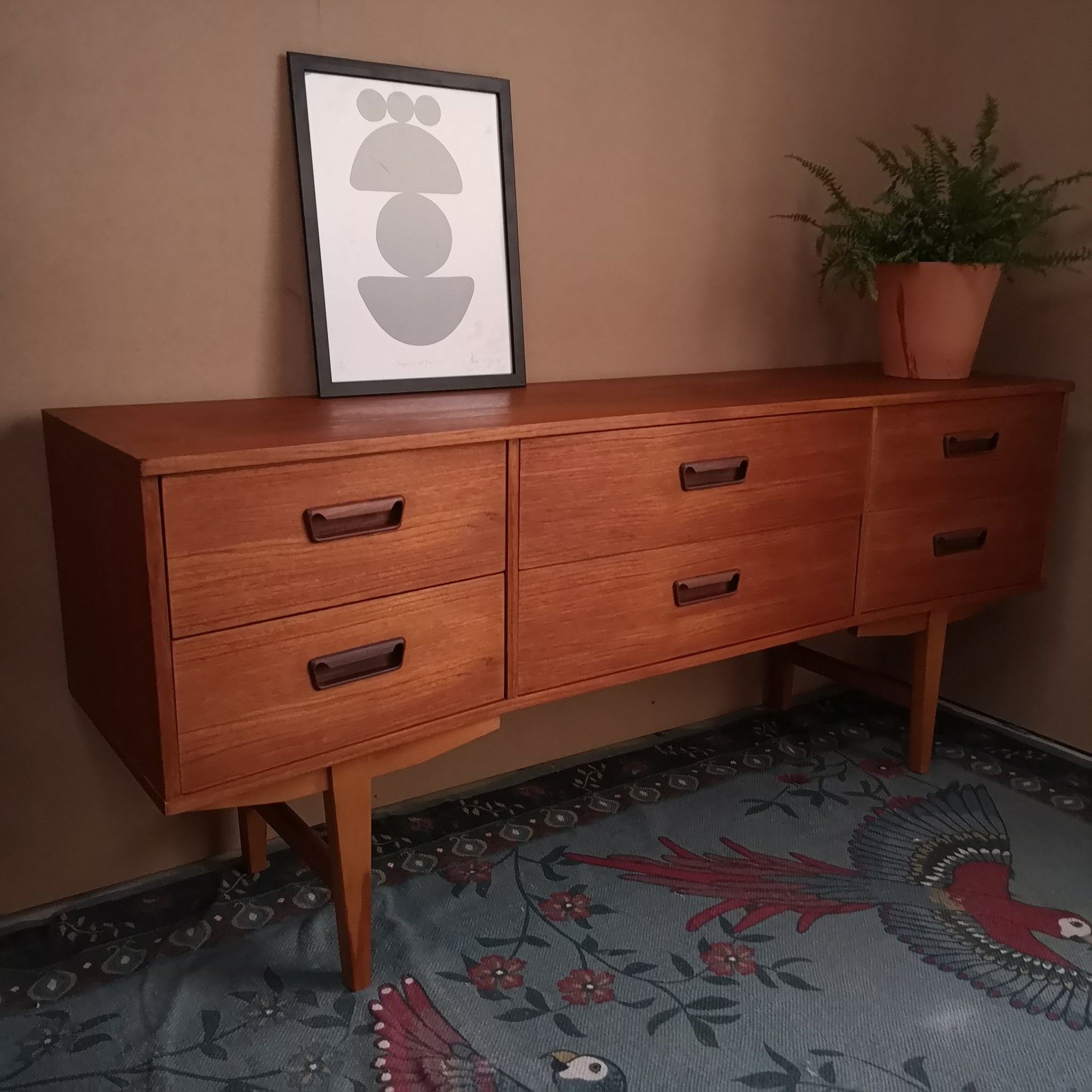 Retro Low Sideboard