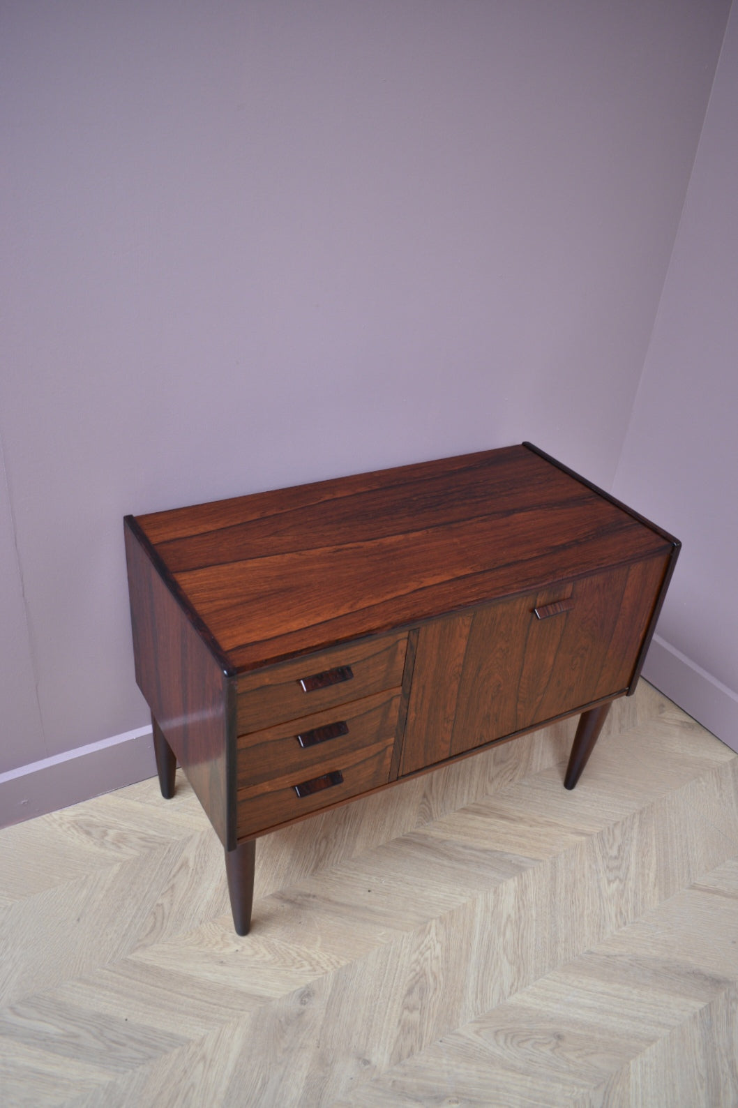 Danish Rosewood Drinks Cabinet