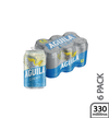 Cerveza light lata x 6 - Aguila Light 330 ml