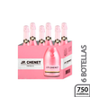 Vino espumante rosado 6 botellas JP Chenet 750 ml