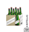 Vino espumante Brut 6 botellas Frizzantino750 ml