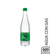 Agua con Gas Pet Manantial 600 ml