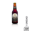 Cerveza brown ale botella Colon 330 ml