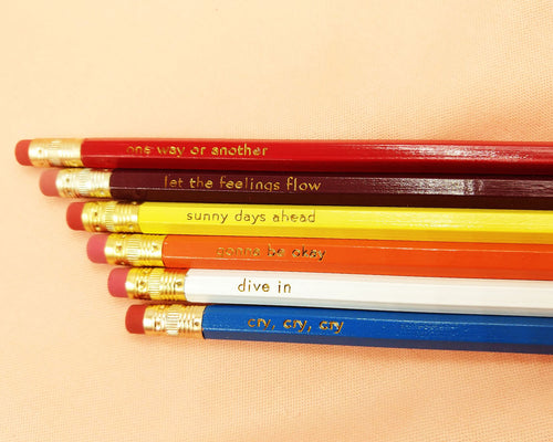 Feelings Pencil Set