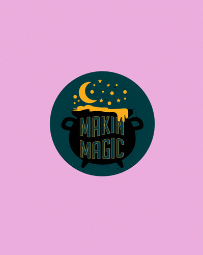 Makin Magic Sticker