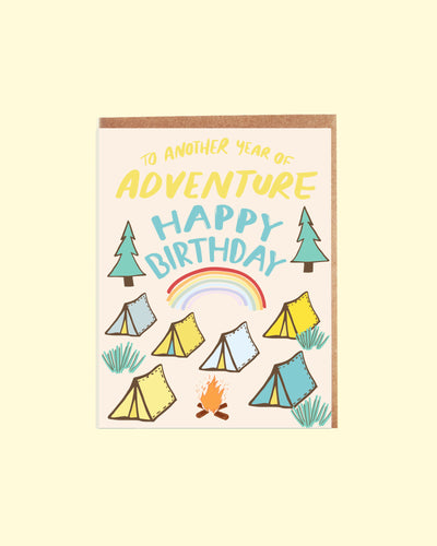 Magical Camp Birthday Card
