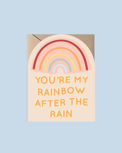 Rainbow After the Rain Card