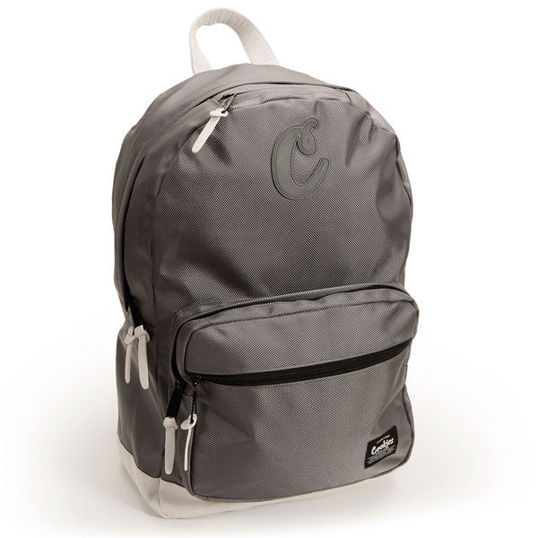 Daily Planner Nylon Backpack (Grey)