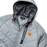 Altitude Quilted Hooded Coat