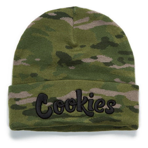 Backcountry Camo Knit Beanie