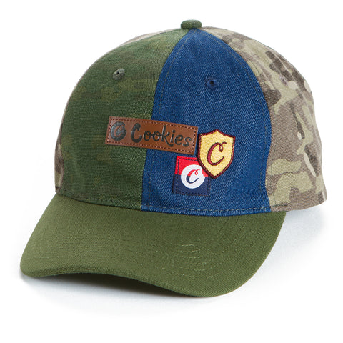 Backcountry Camo/Denim Piecing Dad Hat