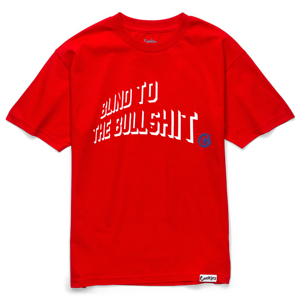 Blind To The B.S. Tee (Red)