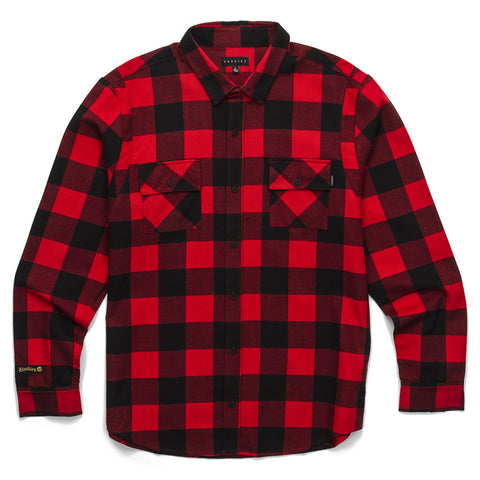 Bookies Flannel (Red)