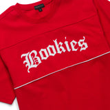 Bookies Pieced Knit (Red)