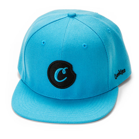 C-Bite Snapback (Cookies Blue/Black)