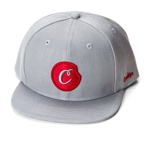 C-Bite Snapback (Grey/Red)