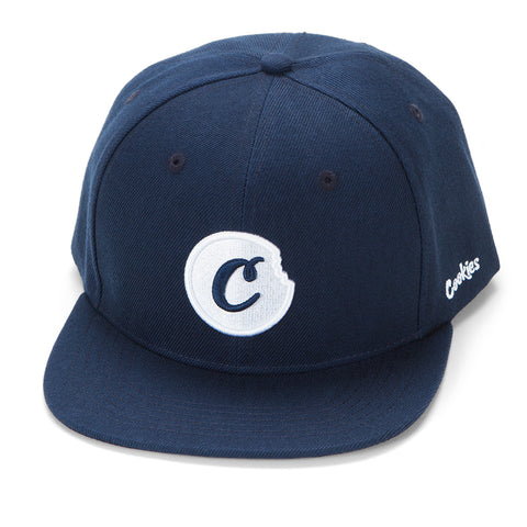 C-Bite Snapback (Navy/White)