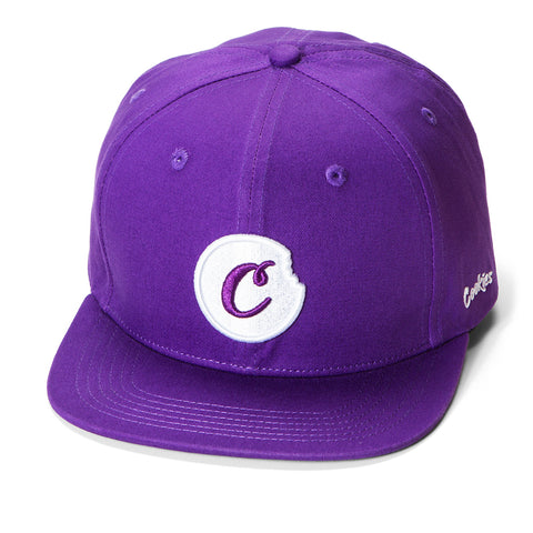 C-Bite Snapback (Purple/White)