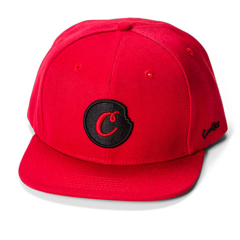 C-Bite Snapback (Red/Black)