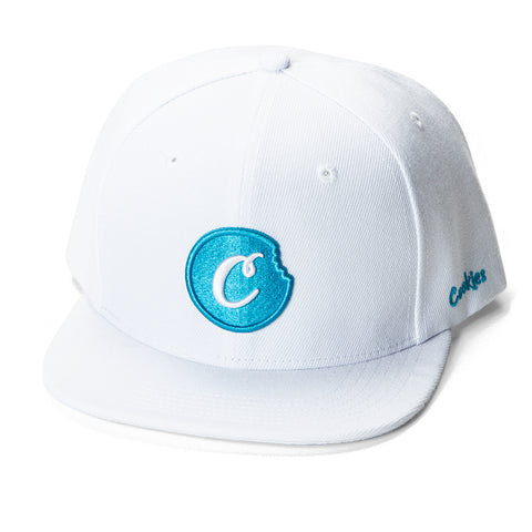 C-Bite Snapback (White/Blue)