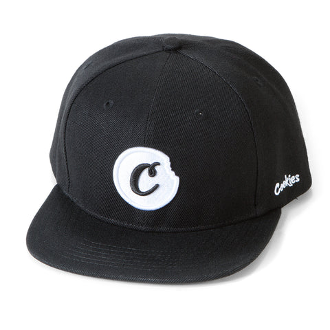 C-Bite Snapback (Black/White)