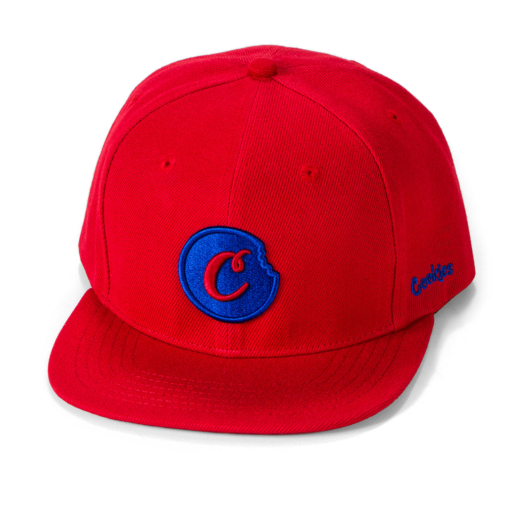 C-Bite Snapback (Red/Navy)