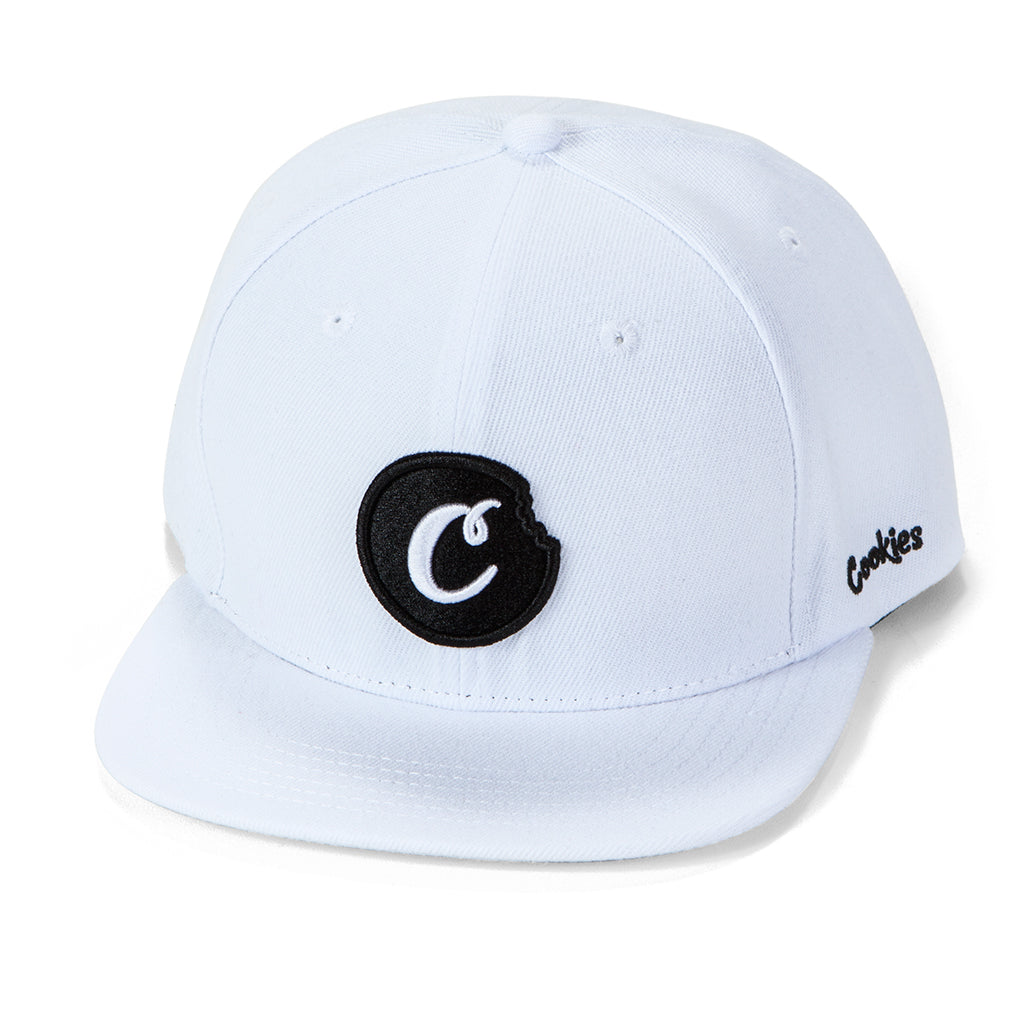 C-Bite Snapback (White/Black)
