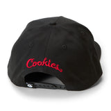 C Logo V2 Snapback (Black/Red)
