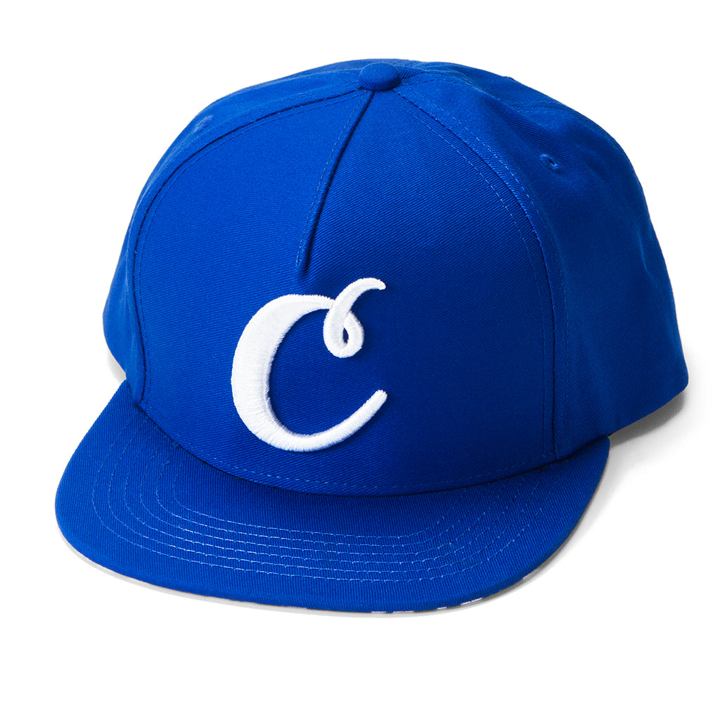 ac7f6fde1d13b0 C Logo V2 Snapback (Royal/White) – Cookies Clothing