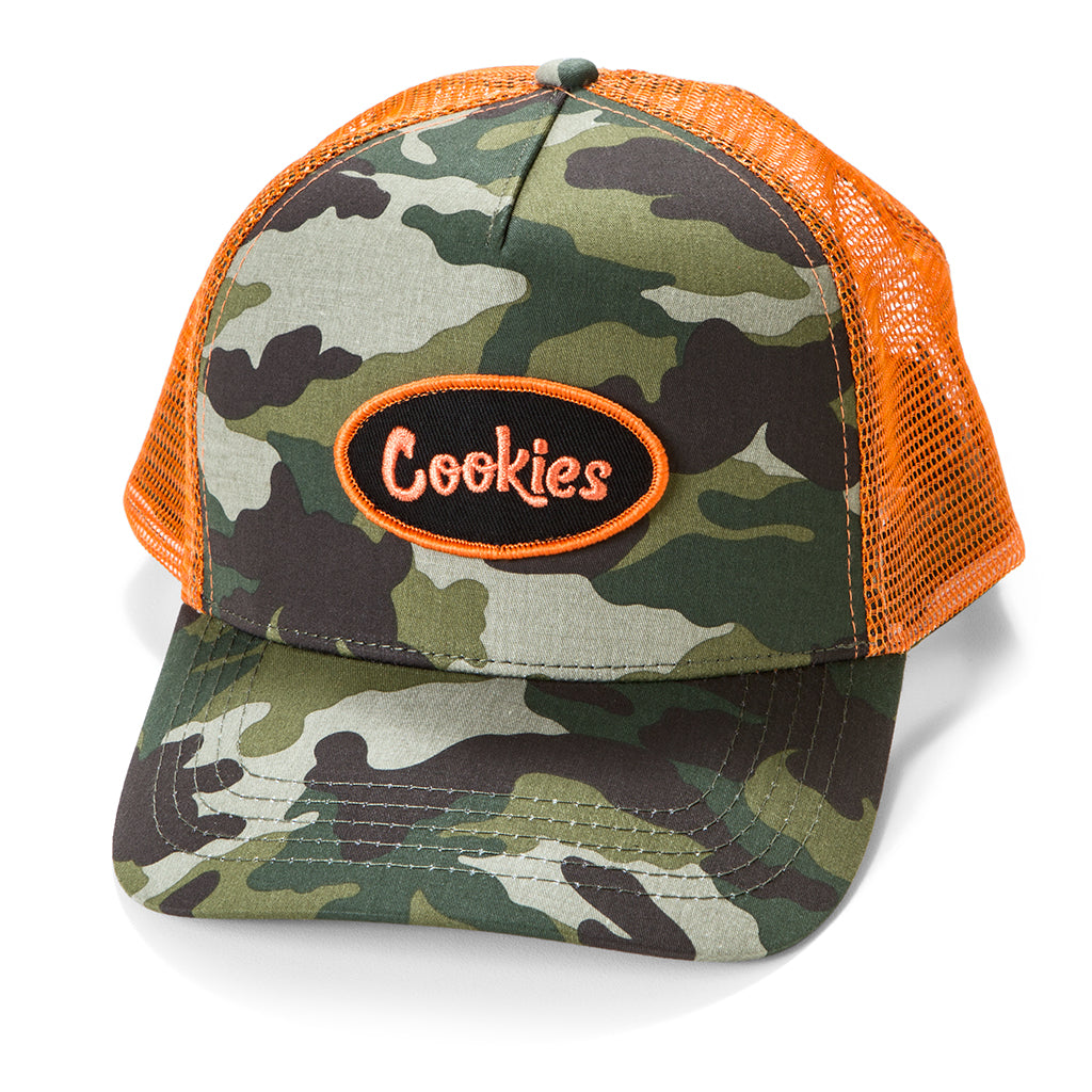Embroidered Cookies Logo Mesh Trucker Hats