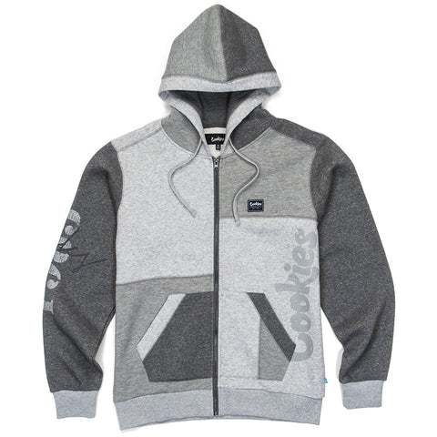Cookies Campus Pieced Zip Up Hoodie