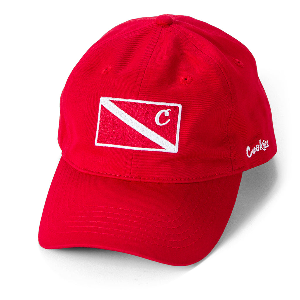 Cayman Dad Cap (Red)