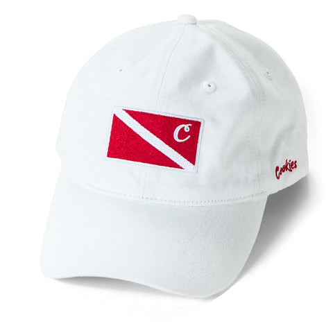 Cayman Dad Cap (White)
