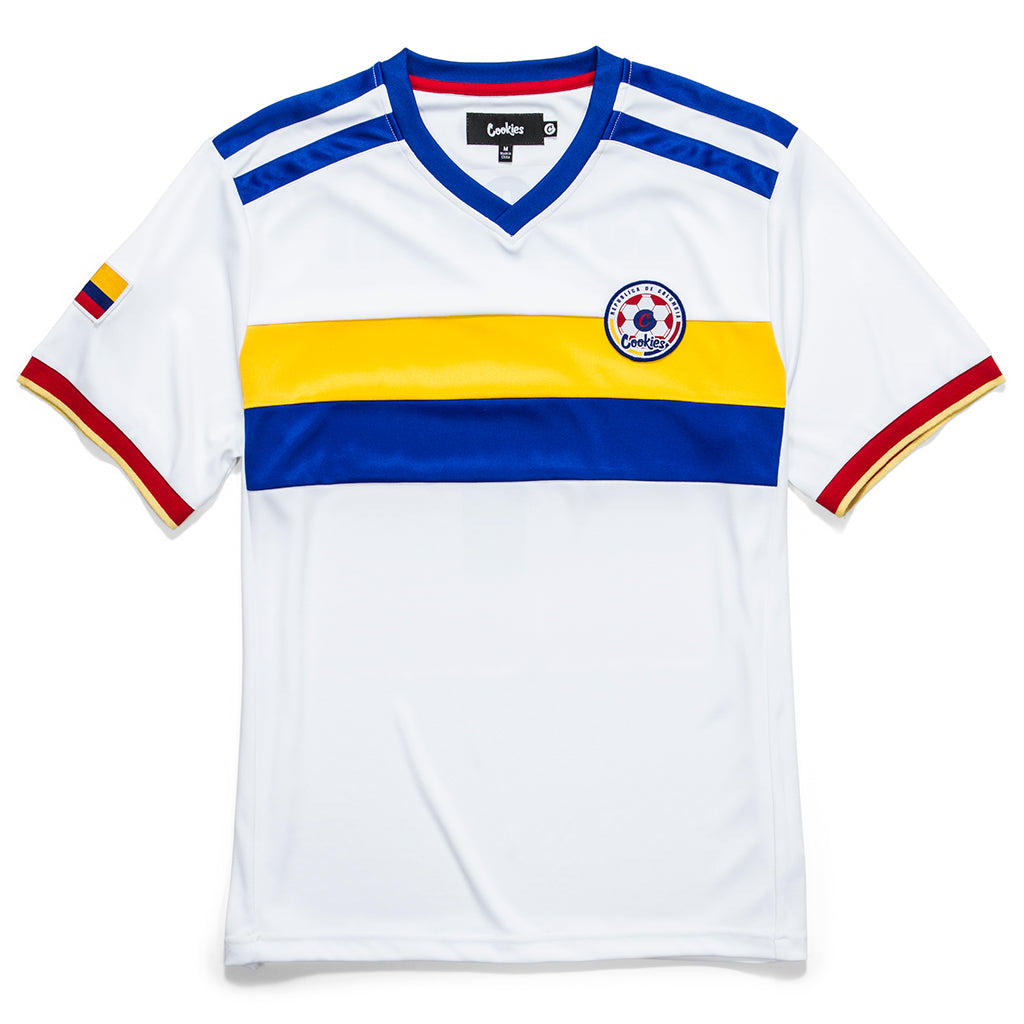 Colombia World Cup Soccer Jersey (White)