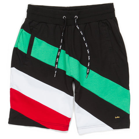 Con Safos Paneled Shorts