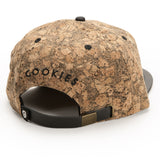 Thin Mint Snapback ( Cork/Black )
