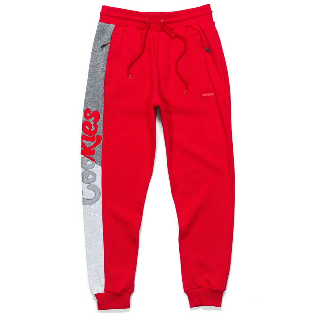 Corleone Fleece Pieced Sweatpants