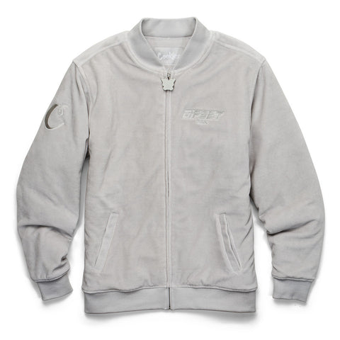 Dipset Velour Bomber (Grey)
