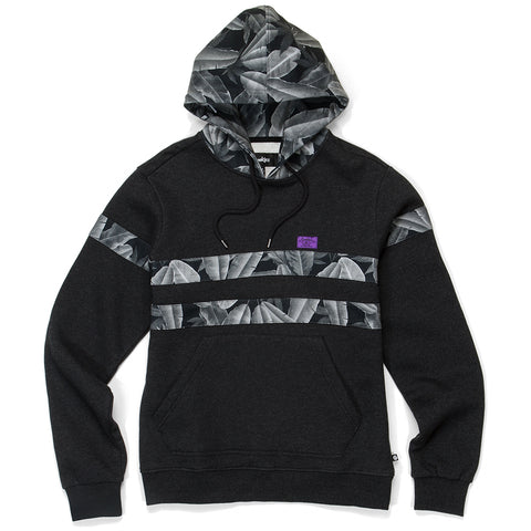 Emerald Triangle Hoodie ( Heather Charcoal)