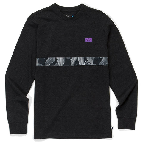 Emerald Triangle L/S Knit ( Heather Charcoal)