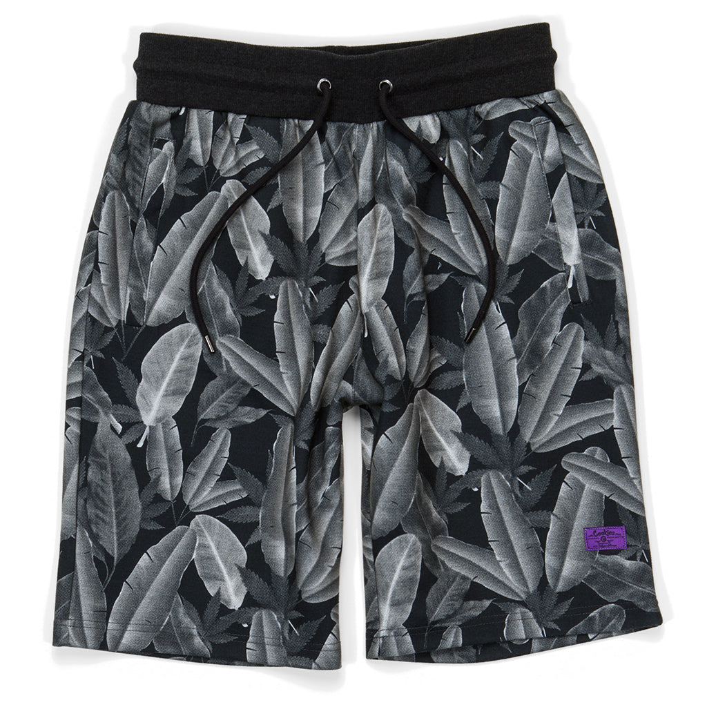Emerald Triangle Jersey Shorts ( Heather Charcoal)