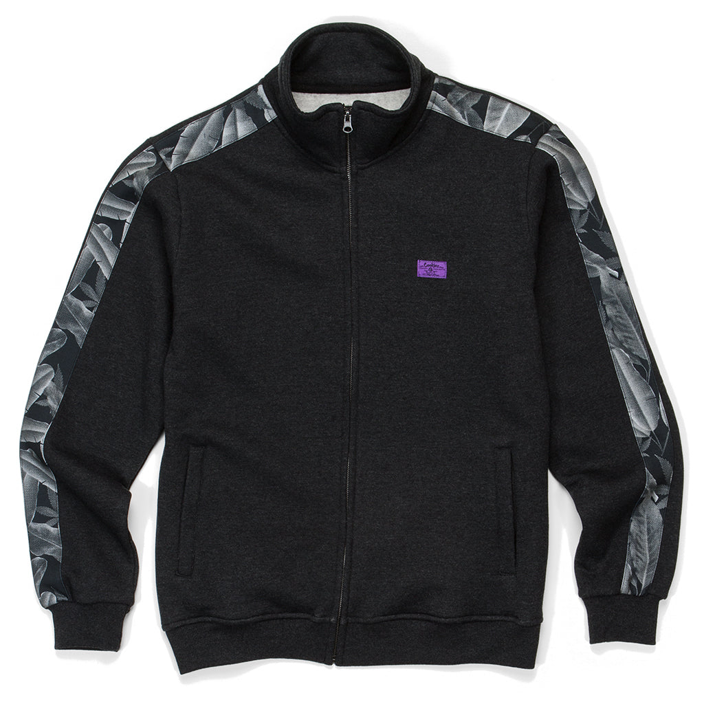 Emerald Triangle Track Jacket ( Heather Charcoal)