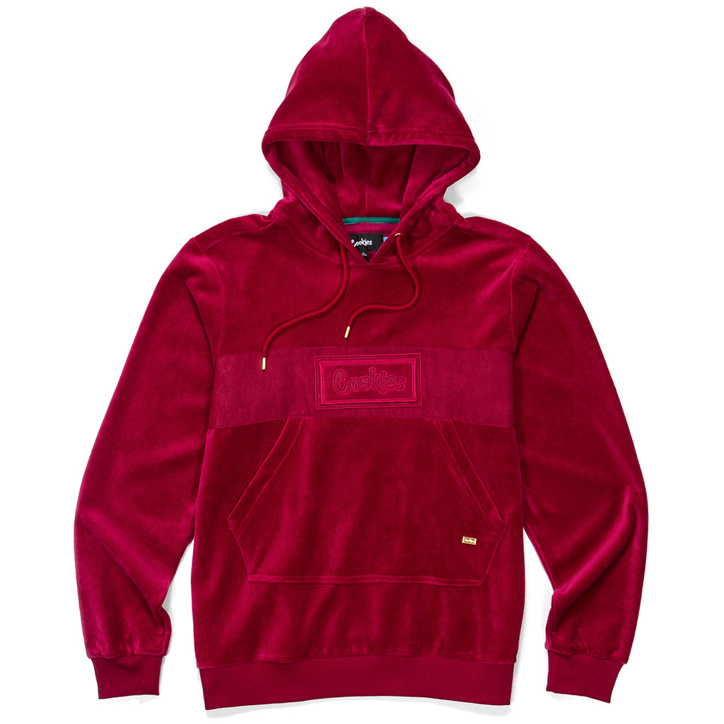 Fifth Ave Suede & Velour Hoodie
