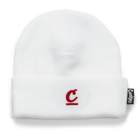 French Open Beanie (White)