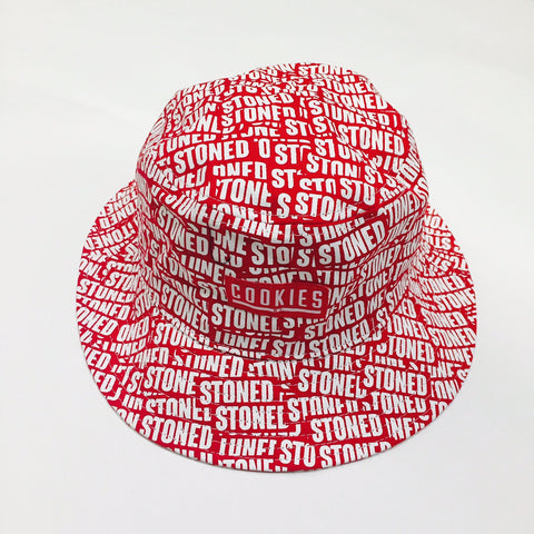 Cookies Stoned Bucket Hat (Red)