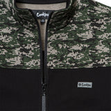 Harvest Camo Colorblocked Zip Up